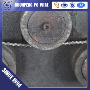 PC Steel Wire With Corrugated Duct in Post Tension System