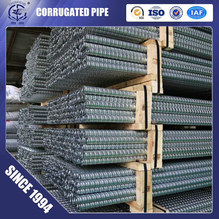 Post Tension Metal Corrugated Ducts  for Prestressed Concrete