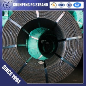 7 Wire Prestressed Concrete Strand with Tensile Strength 1860Mpa