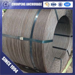 Low Relaxation High Tensile 7 Wire 9.53mm Steel Strand for Prestressed Concrete