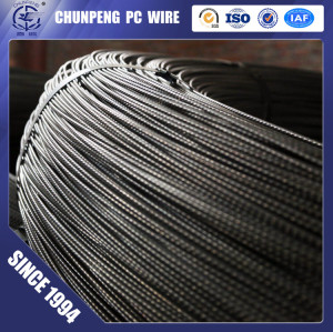 3.4mm  Spiral PC Steel Wire for Prestressed Concrete