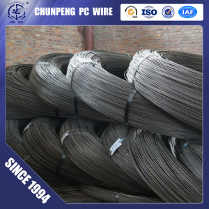 ASTM A421 Plain Surface 7.0mm Prestressed Concrete Wire for Railway Sleepers