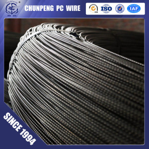 4.8mm  Spiral PC Steel Wire for Prestressed Concrete