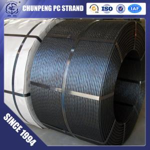 7 Wire 15.24mm Steel Strand for Prestressed Concrete