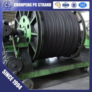 High Tensile 6.0mm Spiral PC Steel Wire 1770Mpa for Construction