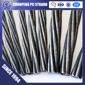 15.24mm Prestressed Concrete Strand