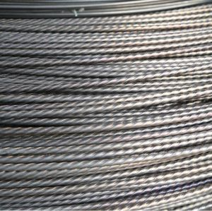 Hot sale High tensile 7mm prestressed concrete wire