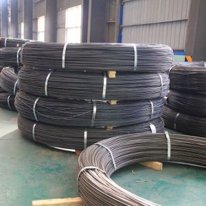 ASTM A421/BS5896 7mm steel wire spiral rib for double t-beam