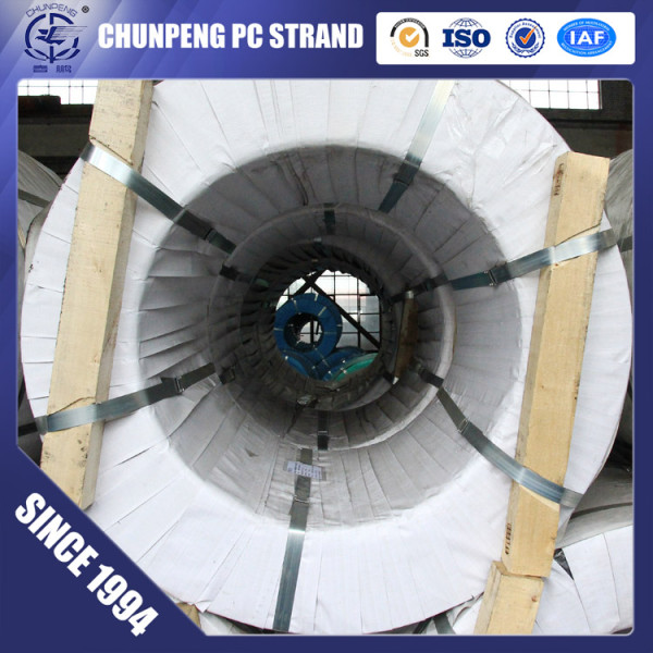 Chinese Direct Sale 7 Wire Prestressing Steel Strand for Roads and Bridges