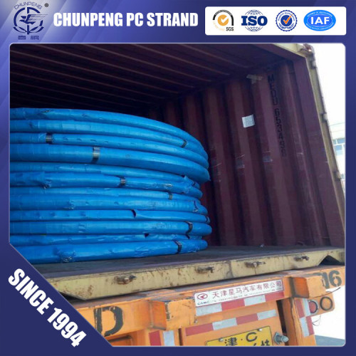 Spiral Ribbed Prestressed Concrete HT Wire for Spun Poles