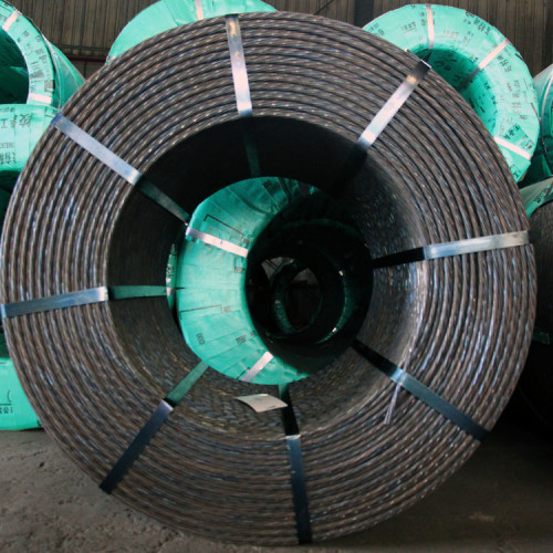 High Tensile Prestressed Concrete 0.5 0.6 inch prestressing steel strand price