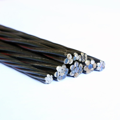 82B 15.7mm pc strand bs5896 post tensioning for building