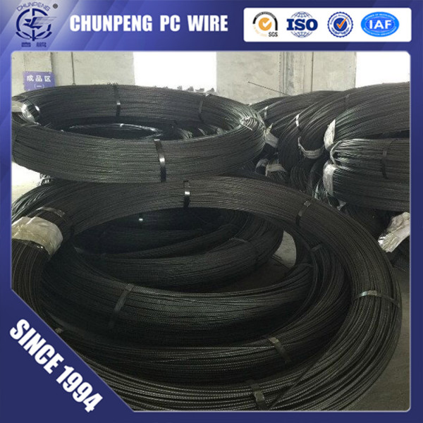 Top Sale 4.8/5.0/7.0mm Prestressed Concrete Wire for Railway Construction