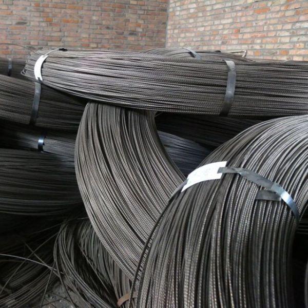 ASTM A421 high carbon prestressed concrete 8.0mm concrete steel wire