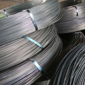 BS5896 prestressed concrete 7.0mm pc steel wire 1670mpa