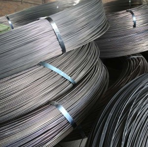 ASTM A412  9.0MM PC STEEL WIRE FOR POST TENSION
