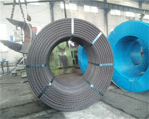 ASTM A416 PC STEEL STRAND 9.53MM
