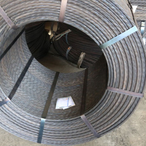 BS5896 9.3mm steel wire strands for prestresssed concrete from china