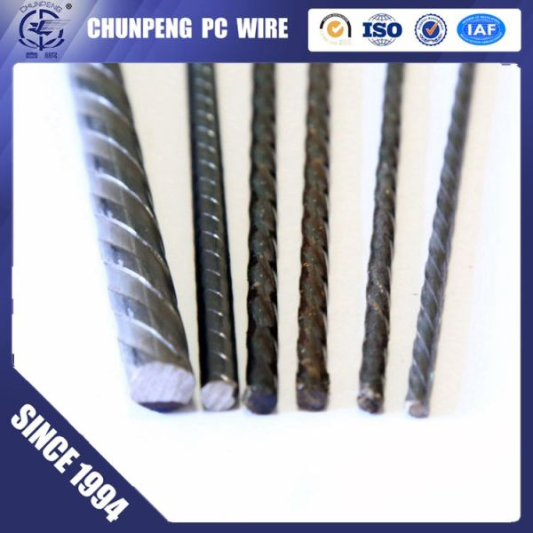 spiral ribbed pc wire concrete wire for precast projects