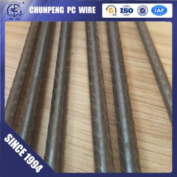 4.8MM 6.0 MM plain & spiral ribbed prestressing steel wire concrete wire