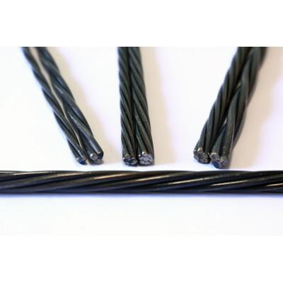7 wire 12.5mm pc prestressed concrete strand