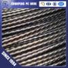 JISG3536 6mm 1660Mpa pc wire spiral steel wire prestressing steel wire from Tianjin