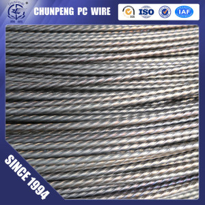 Best Price Spiral Ribbed 7.0mm PC Wire for SPC Poles