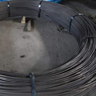 4.8mm PC steel wire with tensile strength of 1770Mpa, widely used for concrete structure