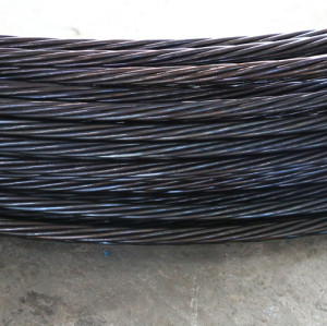 ASTM A416 High tensile prestressed concrete 12.7mm pc strand from China