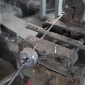 4.8mm spiral prestressed concrete wire