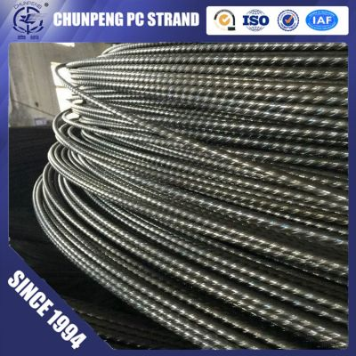 pc steel wire used as reinforcing bars in various prestressed concrete components