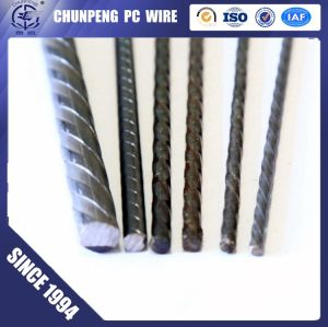 High Quality 6.0mm 1570Mpa pc steel wire with spiral rib