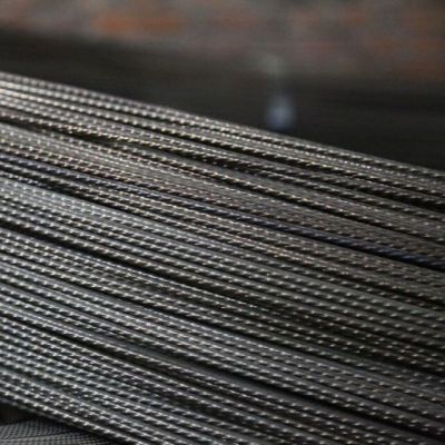 Chunpeng brand 6mm 1670 mpa indented wire for concrete tendons