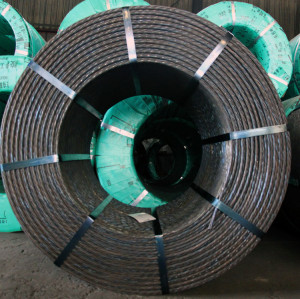 post tension 7 wire 15.24mm prestressed strand cables