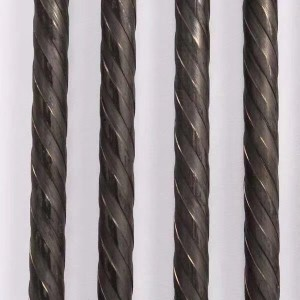 High tensile 1670mpa 7mm Spiral ribbed PC steel wire