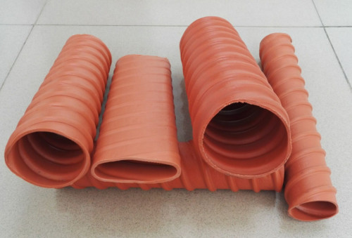 Dia 50mm HDPE Prestressed Corrugated Pipe Used in Post Tension Technology
