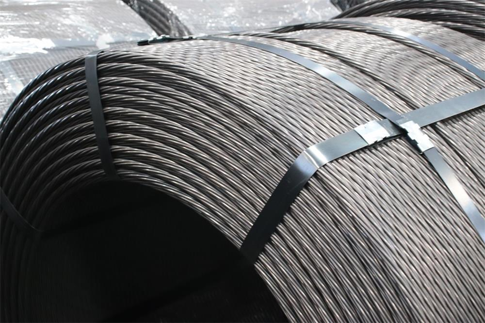 the specific tensioning process of prestressed concrete steel strands