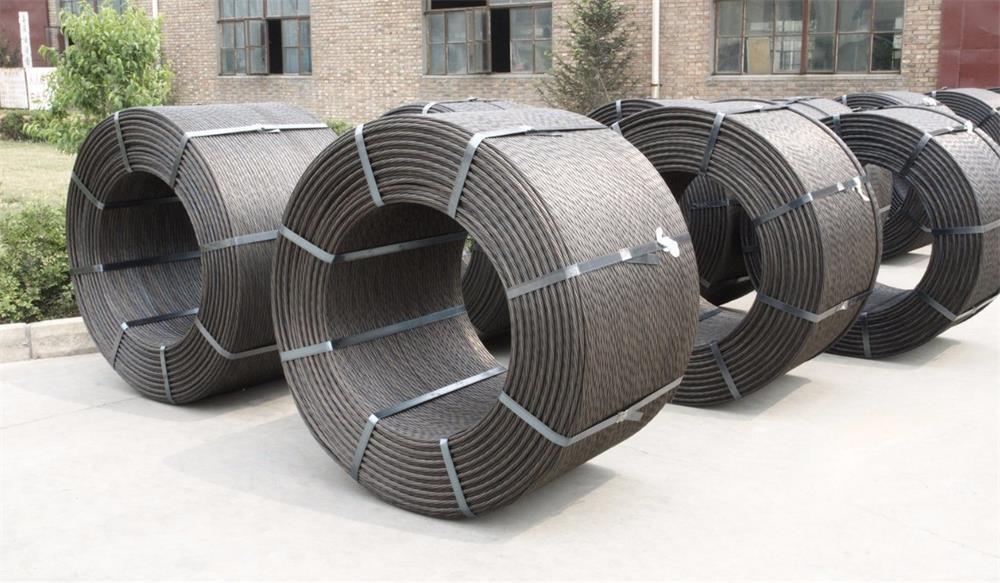two major anti-rust methods of prestressed concrete steel strands