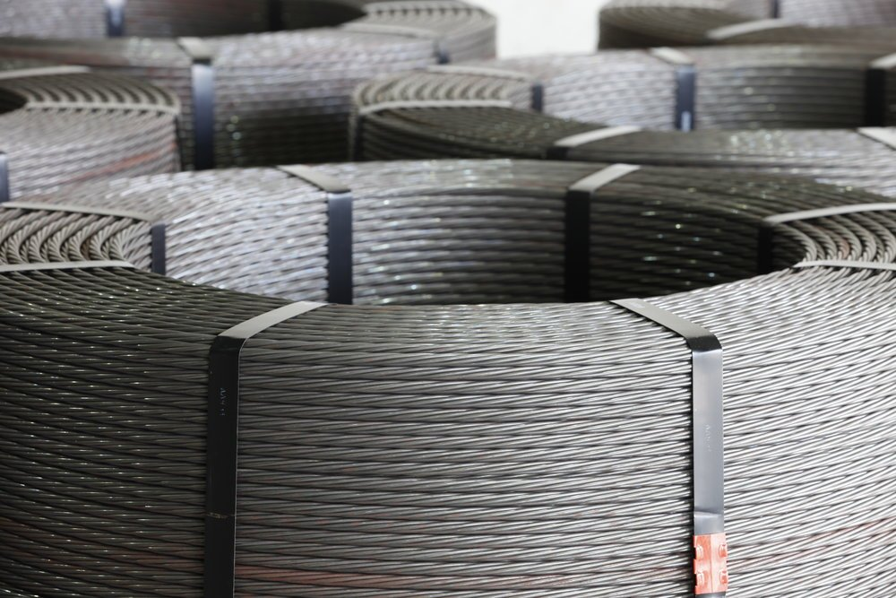 the specific reasons for the excessive elongation of the prestressed concrete steel strands