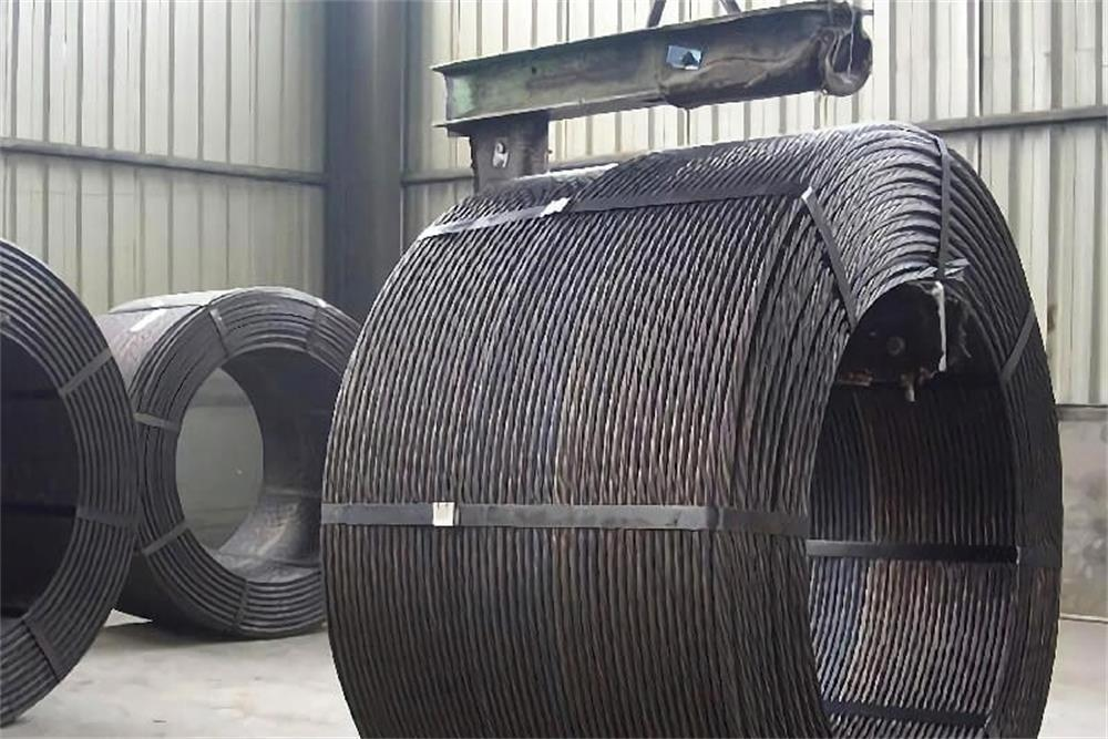the construction process of prestressed concrete strands
