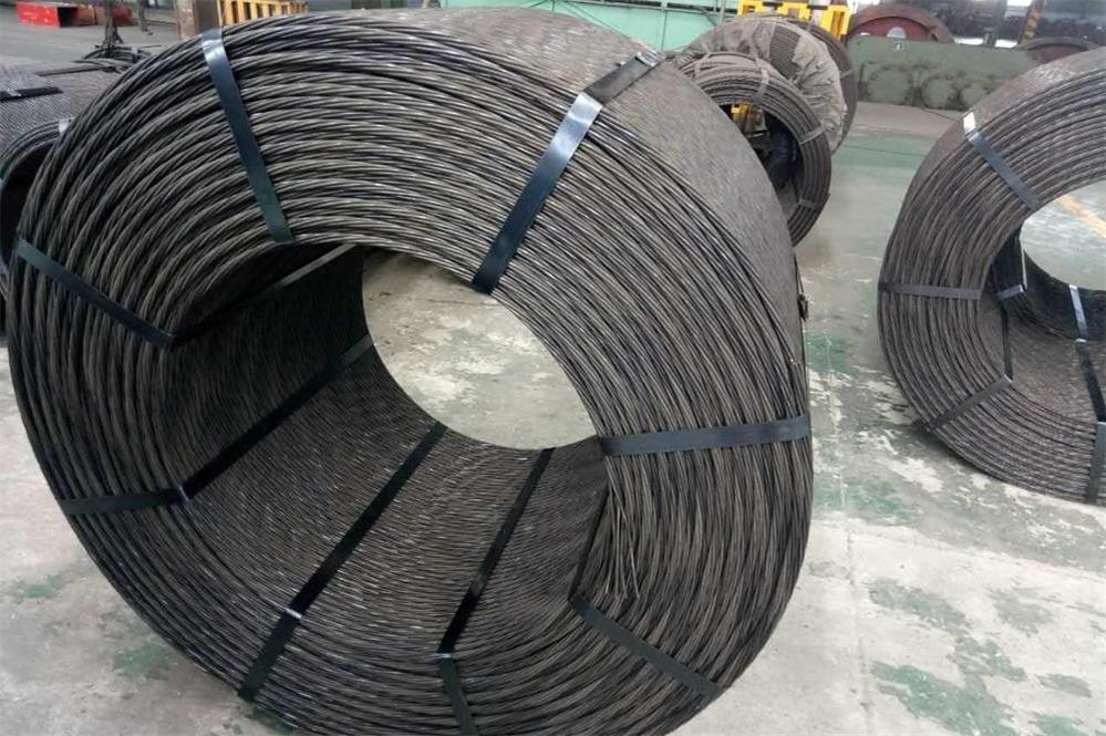 the manufacturing process of the prestressed steel strand
