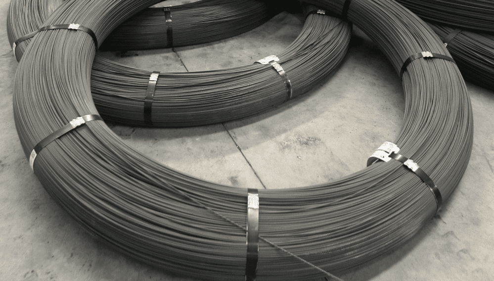 the specific manufacturing process flow of prestressed concrete steel wire