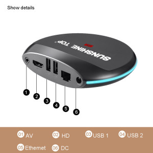 4K Ultra FHD Amlogic S905x 2GB+16G Android TV BOX with 17.1KODI,WIFI,Self-developed IPTV,Blutooth for option.