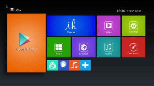 Amlogic S905X 1/2G RAM + 8G/16G ROM H.265 Android Smart ott TV Box manufacturer