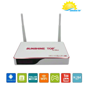 Latest 2019 RK3128 1GB/8GB Shenzhen Wholesale Android Tv Box Wifi Media Player