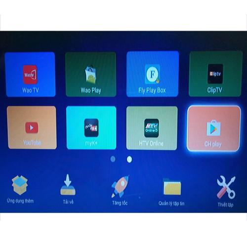 2018 HD IPTV Box Kodi entièrement chargé avec RK3128 Rockchip 1 Go DDR3 et 8 Go NAND FLASH Android set tv box