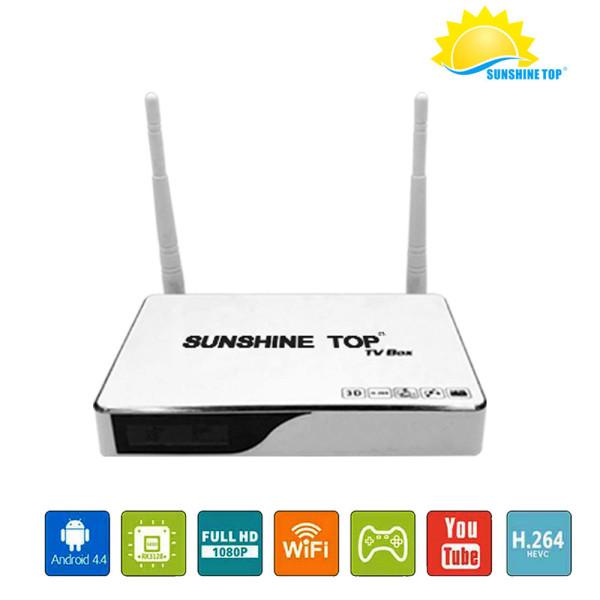 Android 6.0 TV BOX RK3229 Quad core 4K OTT TV BOX soutien HDMI Wifi H.265 3D Ethernet