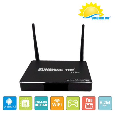 Smart HD box RK3229 CPU GPU 2GB / 16GB Android 6.0 Quad core Q box Android TV Box SR-1803