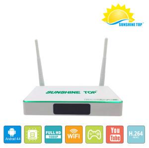 SR-1804 4K Android 6.0 OS 2G + 8G / 16G RK3229 UHD Smart OTT TV BOÎTE Usine