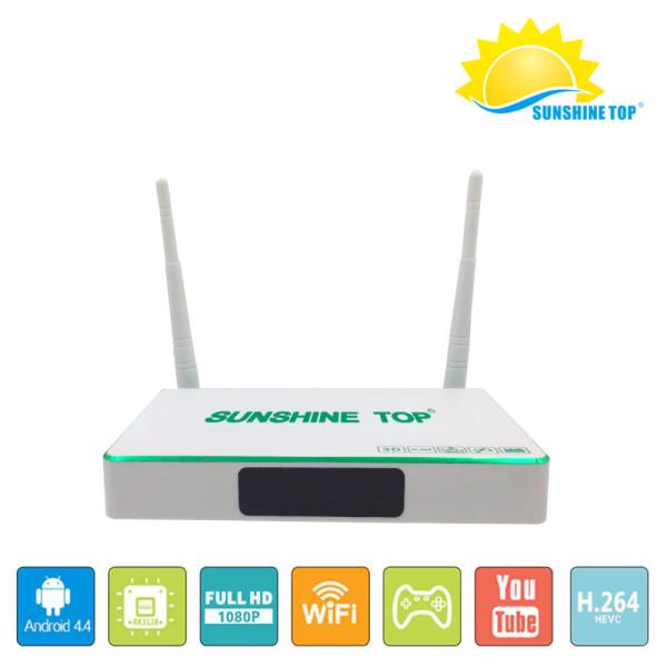 SR-1804 4K Android 6.0 OS 2G + 8G / 16G RK3229 UHD سمارت OTT TV BOX Factory